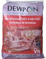 Bột trét tường Dewpon - 40kg/bao