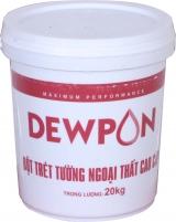 Bột trét tường Dewpon - 20kg/thùng